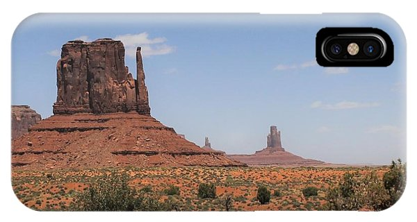West Mitten Butte Monument Valley IPhone Case