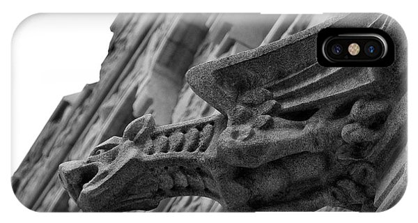 West Point Gargoyle IPhone Case