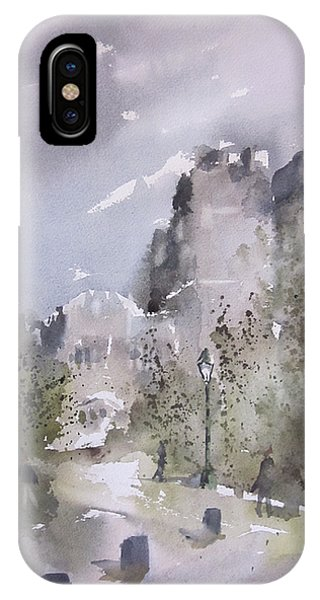 West Point Thayer Road IPhone Case