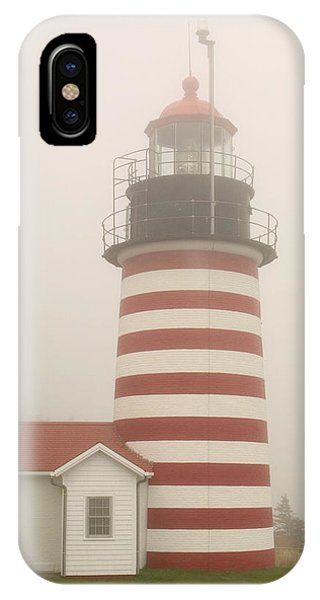 West Quody Head Lighthouse IPhone Case
