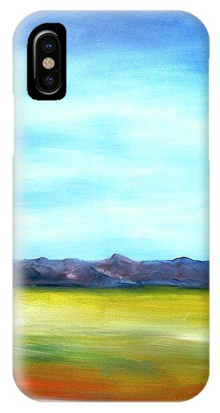 West Texas Landscape IPhone Case