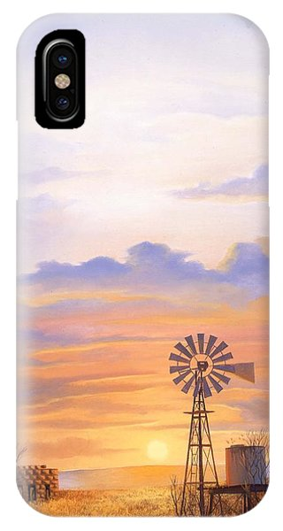 West Texas Sundown IPhone Case