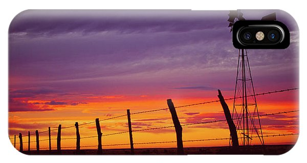 West Texas Sunset IPhone Case