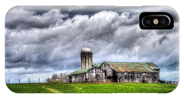 West Virginia Barn IPhone Case
