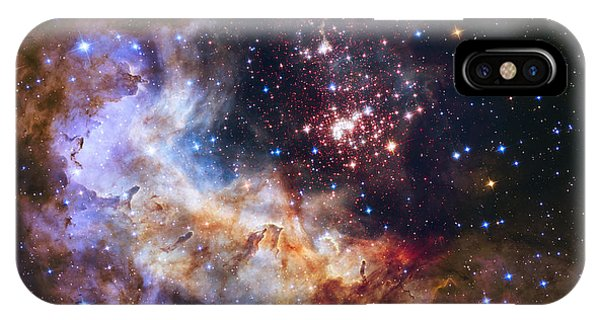 Westerlund 2 - Hubble 25th Anniversary Image IPhone Case