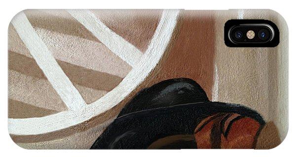 Western Art Work For Luke IPhone Case