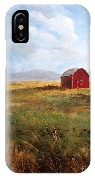 Western Barn IPhone Case