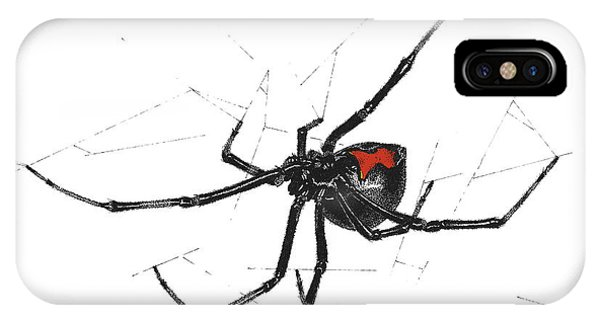 Western Black Widow - Color IPhone Case