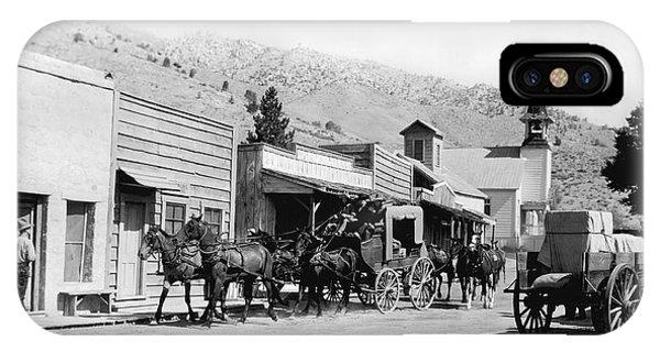 Western Film Still IPhone Case