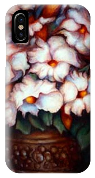 Western Flowers IPhone Case