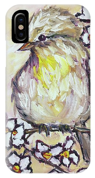 Western Kingbird Chick  IPhone Case