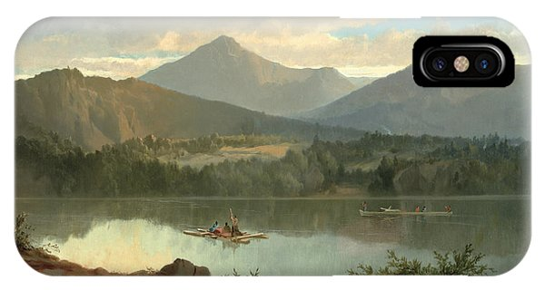 Mountain iPhone Case - Western Landscape by John Mix Stanley