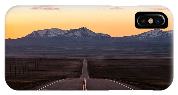 Commute iPhone Case - Western Morning Commute by Todd Klassy