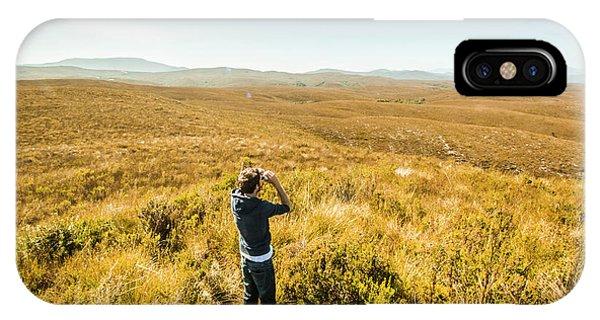 Explorer iPhone Case - Western Plains Of Tasmania by Jorgo Photography - Wall Art Gallery