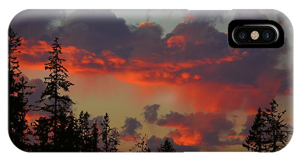 Western Sky Fire IPhone Case