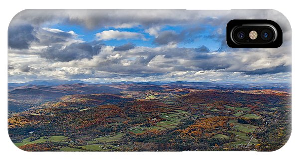 Western View From Mt Ascutney IPhone Case