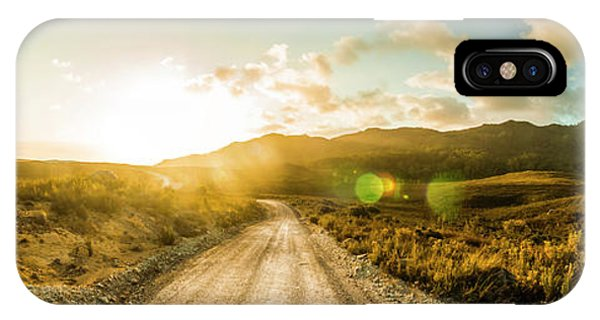 Trial iPhone Case - Western Way by Jorgo Photography - Wall Art Gallery