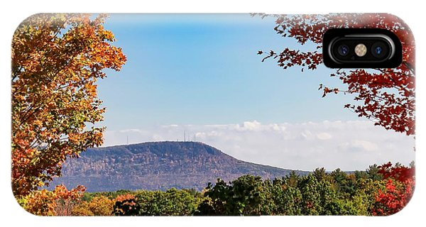 IPhone Case featuring the photograph Westhampton View Of Mount Tom by Sven Kielhorn
