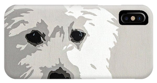 Pet iPhone Case - Westie by Slade Roberts