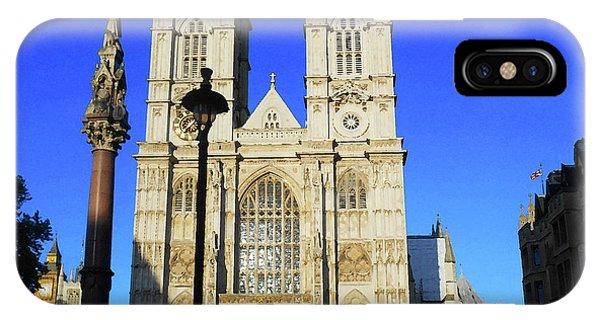Westminster Abbey iPhone Case - Westminster Abbey London England by Irina Sztukowski