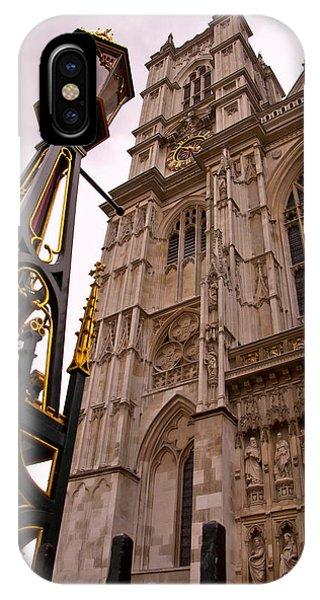Westminster Abbey iPhone Case - Westminster Abbey London England by Jon Berghoff
