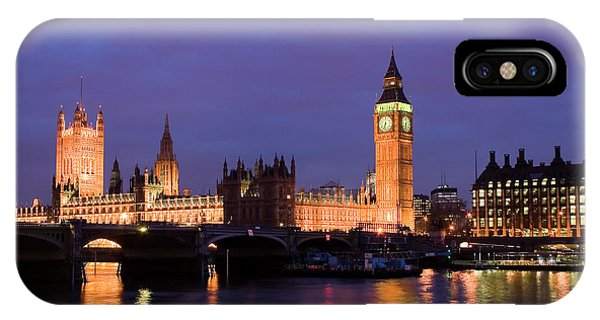 Westminster At Sundown IPhone Case
