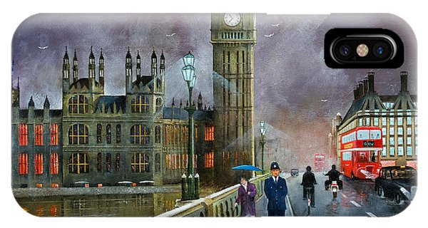 Westminster Bridge IPhone Case