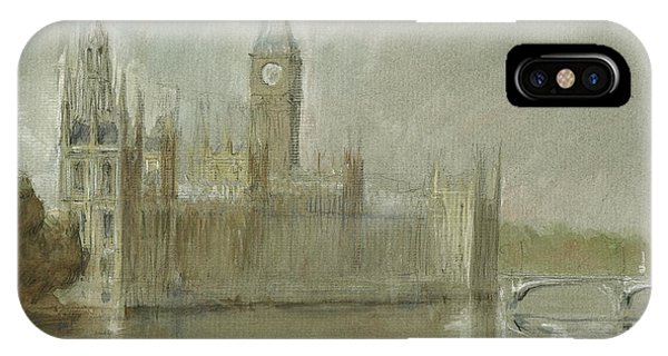Ben iPhone Case - Westminster Palace And Big Ben London by Juan Bosco