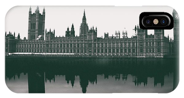 Westminster Abbey iPhone Case - Westminster Reflection by Martin Newman