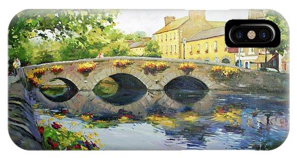 Irish iPhone Case - Westport Bridge County Mayo by Conor McGuire