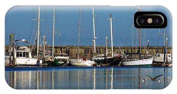 Westport Fishing Fleet I IPhone Case