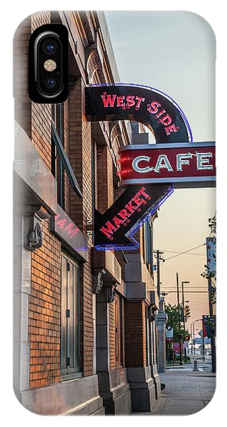Westsidemarketcafe IPhone Case