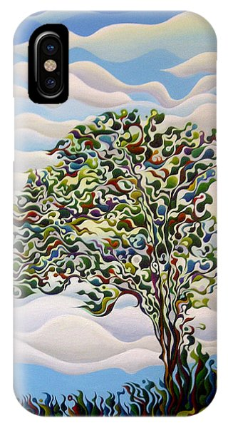 Westward Yearning Tree IPhone Case