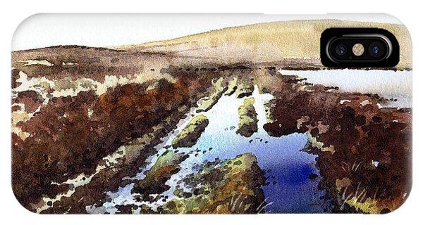 iPhone Case - Wet Lane Cupwith Reservoir by Paul Dene Marlor