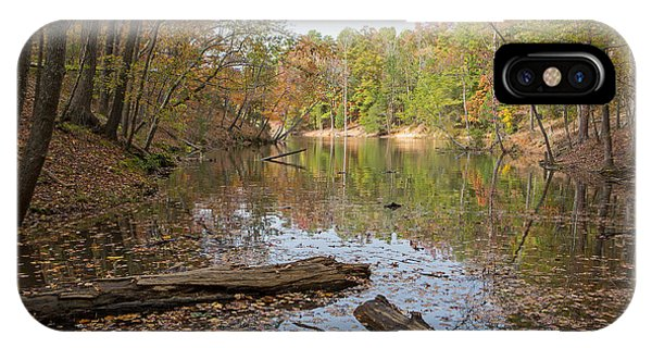 Wetlands In Autumn IPhone Case