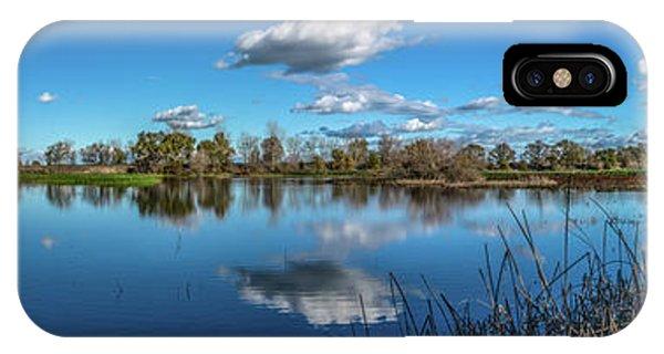 Wetlands Panorama  IPhone Case