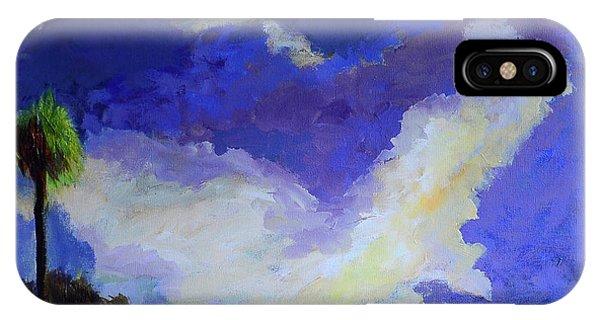 Wetlands Sky  IPhone Case