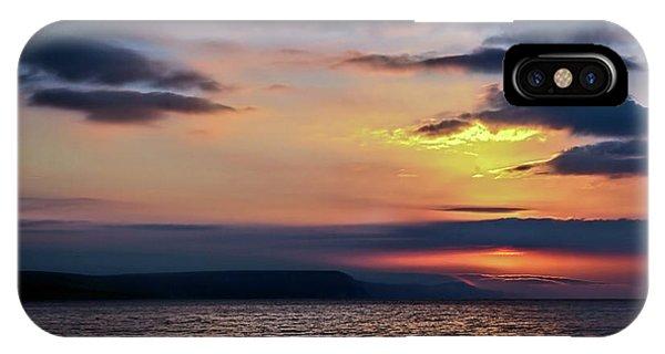 Weymouth Esplanade Sunrise IPhone Case
