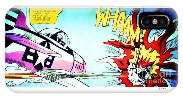 Whaam - Roy Lichtenstein  IPhone Case
