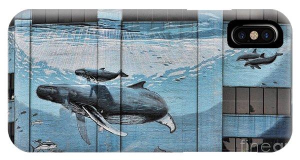 Whale Deco Building  IPhone Case
