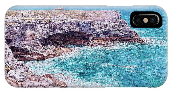 Whale Point Cliffs IPhone Case