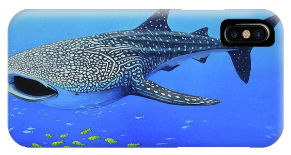 Whale Shark Phone Case by James Zeger