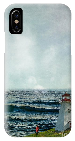 Whale Watch IPhone Case