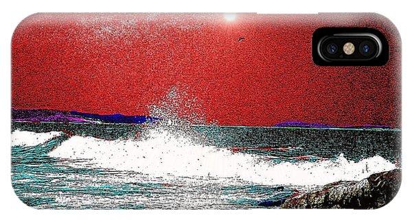 Whaleback At Peaks Island Maine IPhone Case
