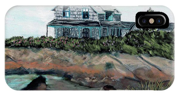 Whales Of August House IPhone Case