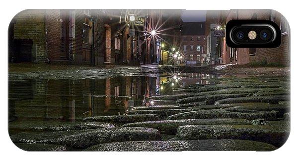 Wharf Street Cobblestones IPhone Case
