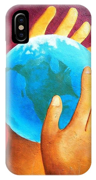 What A Wonderful World ... IPhone Case