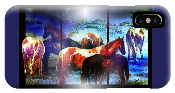 What  Horses Dream IPhone Case
