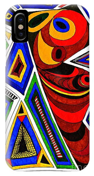 Vibrant iPhone Case - What The Eye Sees by Sarah Loft