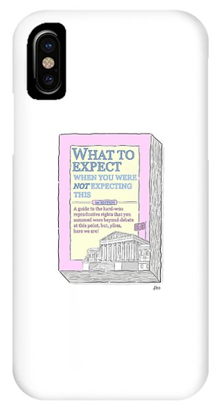 Capitol Building iPhone Case - What To Expect by David Ostow